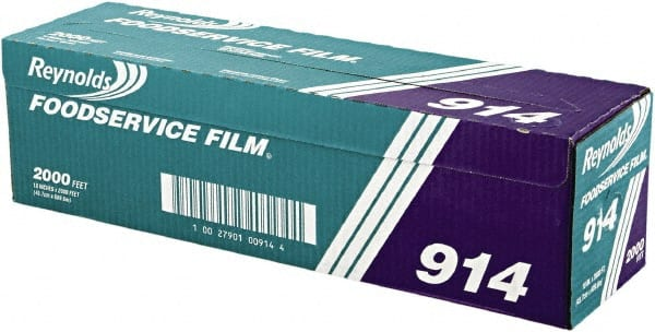 PVC Film Roll with Cutter Box, 18