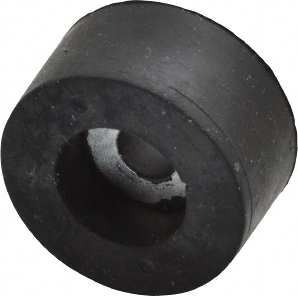 5//16 Bore Diameter 1-1//2 OD x 5//8 Height Recessed Bumper with Steel Washer Inserts Style 1