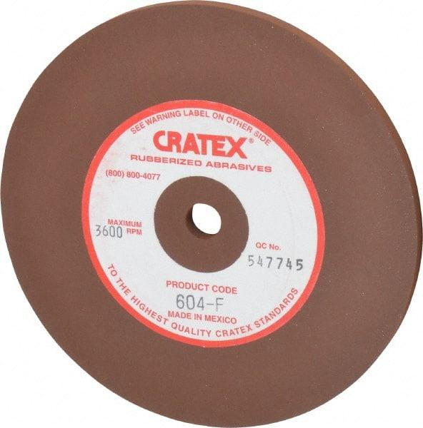 Cratex 680C 6 x 1//2 x 1//2 Coarse Silicon Carbide Grinding Wheel Rubber Bond