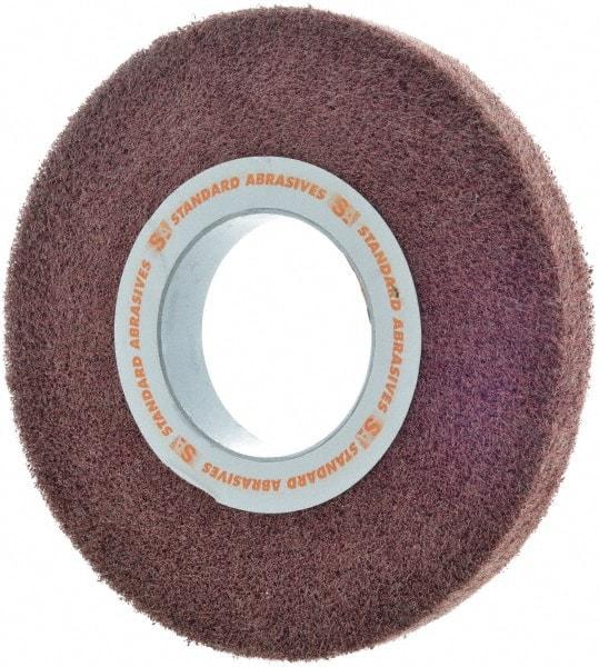 Density: 6 Abrasive: A Non Woven Abrasive Deburr and Finish Wheels 6 x 1 x 1 Grit: F
