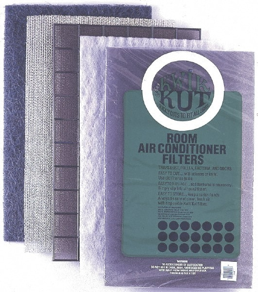 Lofted Synthetic Polyester Fiber Wireless Pleated Air Filter 10 Pack Made in USA 16 Nom Height x 20 Nom Width x 4 Nom Depth