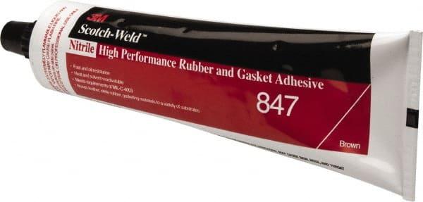 5 oz Tube Brown Butyl Rubber Gasket Sealant 33010018 - MSC