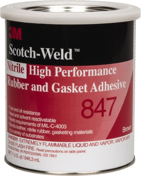 3M - 32 oz Can Brown Butyl Rubber Gasket Sealant - 33010026