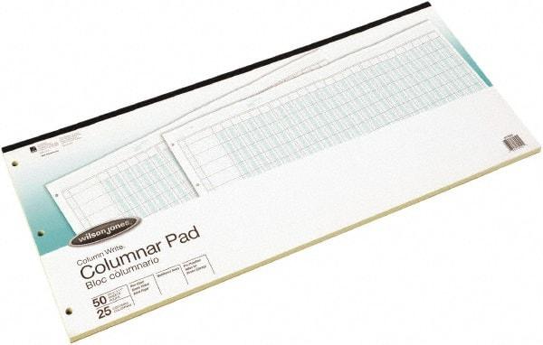 Sheet 8 1 2 X 14 Accounting Pad