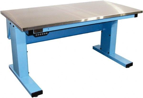 Pleasant Light Blue 42 1 2 Inch Bench Mscdirect Com Ibusinesslaw Wood Chair Design Ideas Ibusinesslaworg