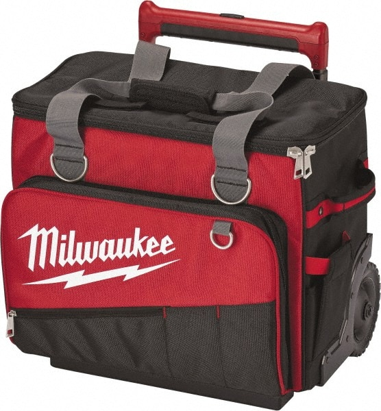 Milwaukee Tool 66 Pocket Red Black Ballistic Polyester
