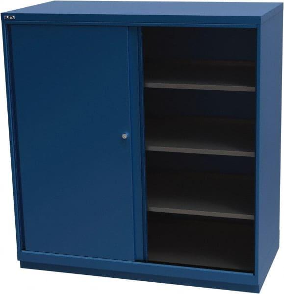 Lista 4 Shelf Sliding Door Storage Cabinet 33913971 Msc Industrial Supply