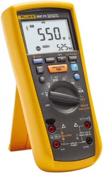 Fluke - 7 Piece, Digital Multimeter Kit - 35024652 - MSC