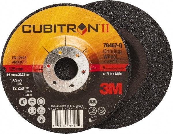 Norton 9in Diam x 1//4in Thick x 7//8in Arbor Type 27 Depressed Center Wheel *NEW*