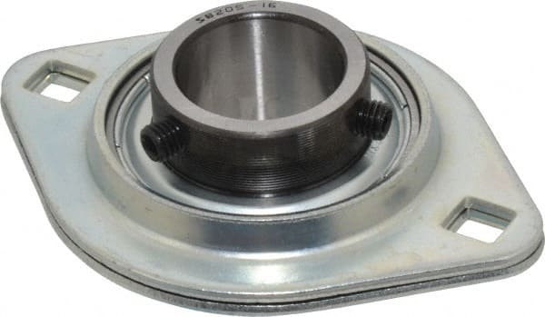 import 1inches bore 2 bolt flange mounted ball bearing