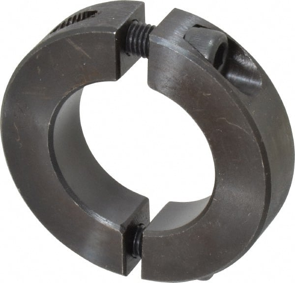 Climax Metal H2C-131-S Shaft Collar With 1//4-28 x 3//4 Set Screw Stainless Steel 1//2 Width Two Piece 2-1//4 OD 1-5//16 Bore