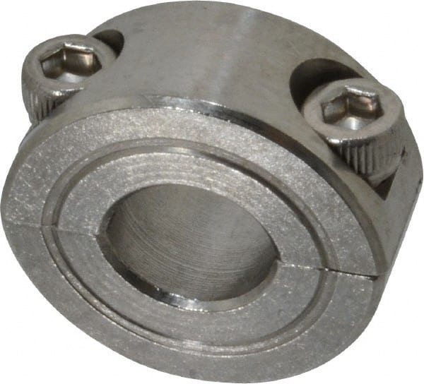 """1pc 2SSC-056 9//16/"""" Inch Stainless Steel Double Split Shaft Collar"""