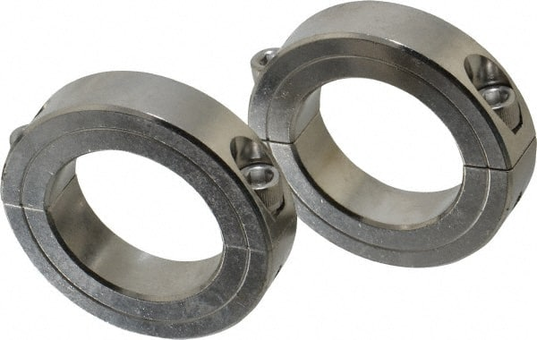 "1pc 2SSC-012 1//8/"" Inch Stainless Steel Double Split Shaft Collar"