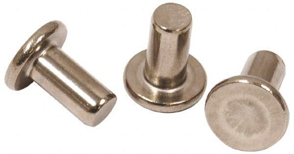 Copper rivets Flat head 2 lbs 800 pieces 1//2 inch