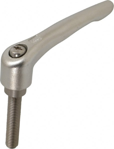 Réglable en acier inoxydable-Pince levier m12x40//innensechsrund