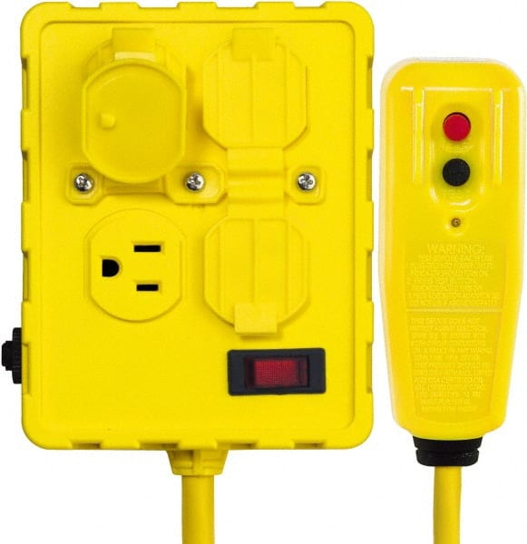 Yellow Electrical Box Mscdirect Com