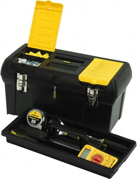 Stanley 2 Compartment Tool Box - 24  sc 1 st  MSC Industrial Supply & Yellow Stanley Tool Storage   MSCDirect.com