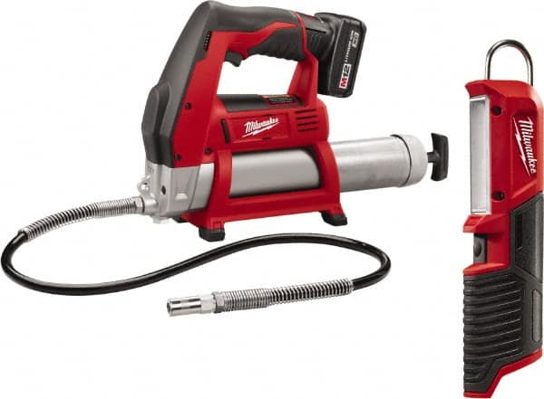 Milwaukee Tool 8 000 Max Psi Flexible Battery Operated Grease Gun 36458974 Msc Industrial Supply