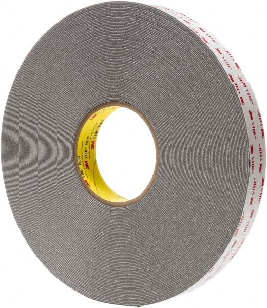 3m 12inches x5yd x 125 gray double coated foam tape