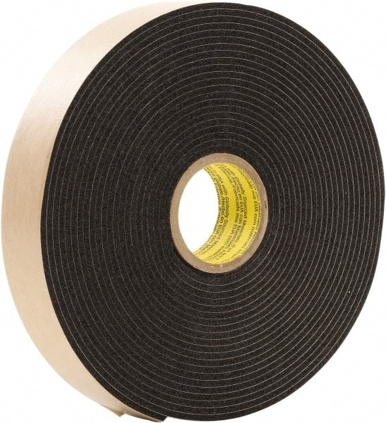 3m 34x5yd x 125inches black double coated foam tape