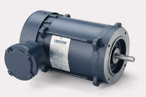 Leeson 1//3HP 3 Phase Motor 5//8inch Shaft