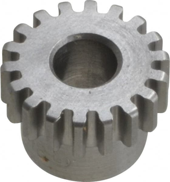 18 Teeth 2 Metric Module Tooth Profile Mfg Code 1-025 M2B18 Ametric Metric Minimum Plain Bore Steel Spur Gear with Hub 40 mm Outside Diameter 20 Degree Pressure Angle 10-12 +//-1mm Pilot Bore 20 mm Tooth Face Width, 25 mm Hub Diameter