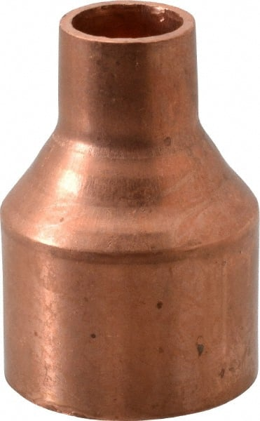 Mueller Industries 1 1 4 X 1 2 Wrot Copper Pipe Reducer Coupling 36889996 Msc Industrial Supply
