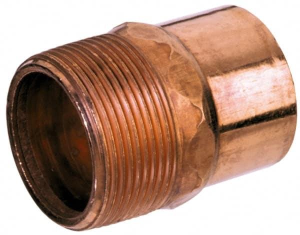 Mueller Industries 5 8 X 1 2 Wrot Copper Pipe Adapter 36890697 Msc Industrial Supply