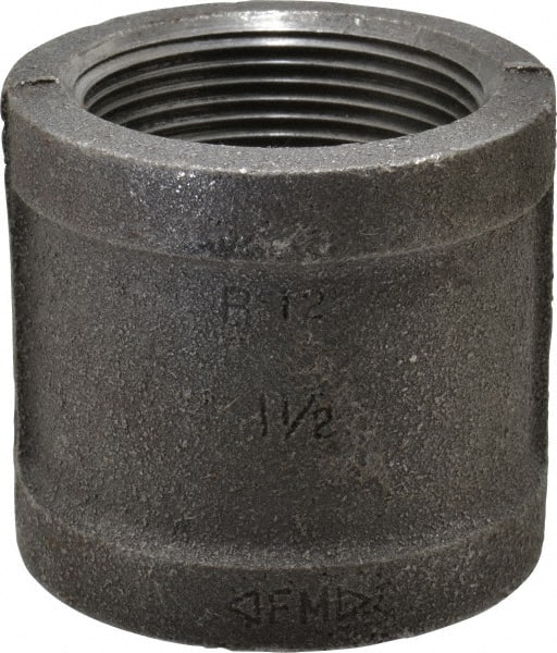 "FREE SHIPPING 1-1//2/"" BLACK MALLEABLE 90/'S FITTINGS"