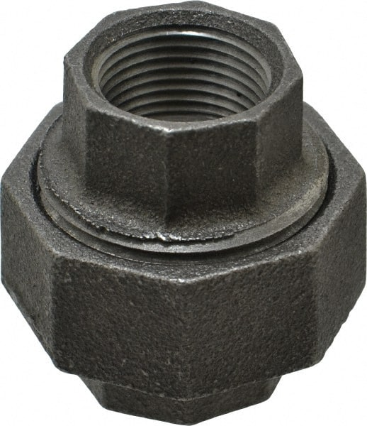 Black Pipe 45/° Lateral Y... Class 150 Made in USA Size 3//8 Malleable Iron