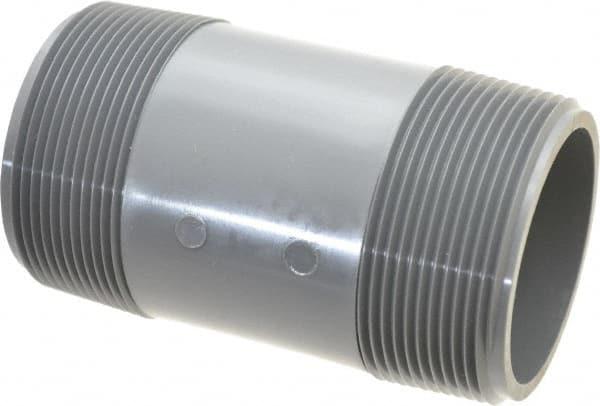 Quot pipe long pvc threaded nipple msc