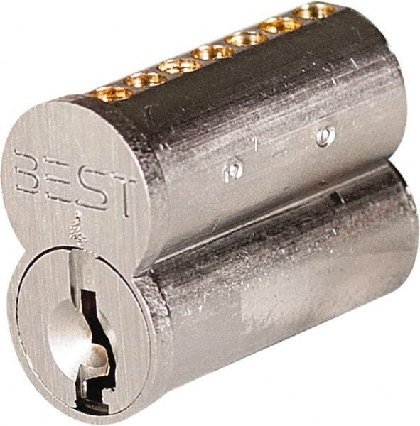 Best 7 Pin Best I C Core Cylinder Small Format Ic 37678646 Msc Industrial Supply