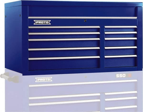 40-1//4 Overall Width 47-3//8 Overall Height 22-1//2 Overall Depth Lista XSHS0900-0903MBB Mobile Modular Drawer Cabinet