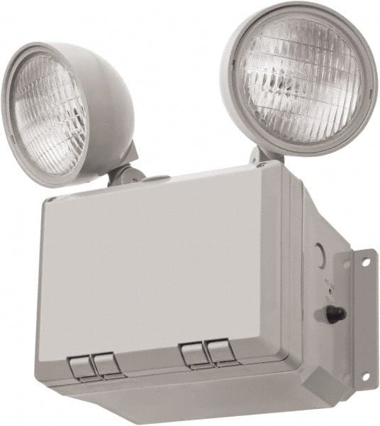 Lithonia Lighting 2 Heads 120 277 Vac Thermoplastic Led Emergency Light 38063285 Msc Industrial Supply