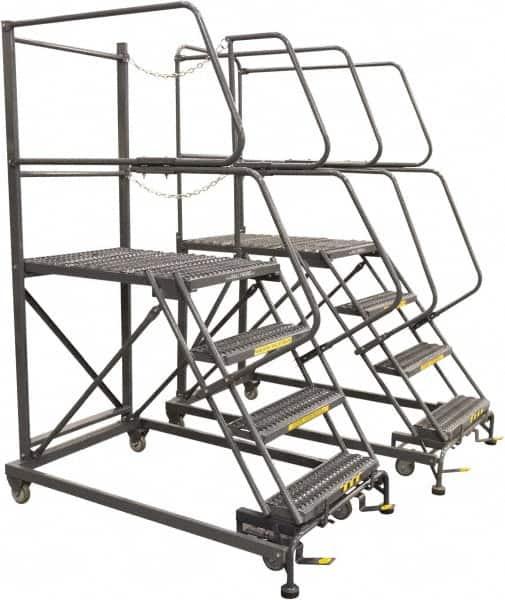 Wall Mount Platform : Wall mounted steps ladder mscdirect