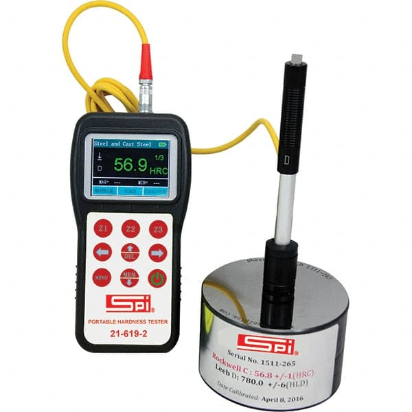 A... SPI 0 HSA to 100 HSA Hardness Portable Electronic Hardness Tester Shore A