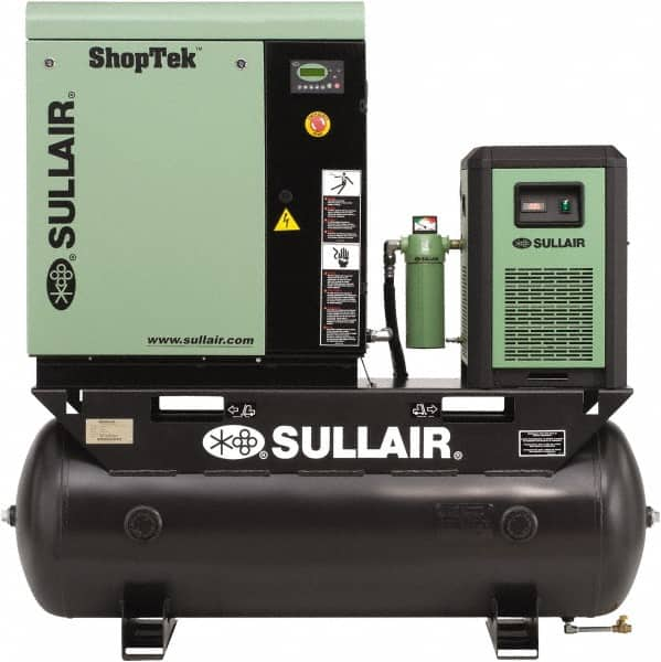 Sullair - Stationary Electric Air Compressors Horsepower: 15