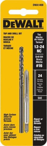 12-24 DEWALT DWADT1224 UNC Drill Tap