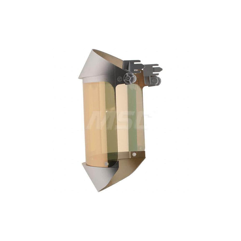 """Welding Face Shield /& Headgear Set 14/"""" Wide x 8/"""" H... Oberon Ratchet Adjustment"""