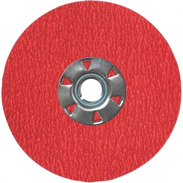 1//2 in Non-Woven Finishing Disc 2700 RPM Aluminum Oxide 6 Units 8 in Disc Dia