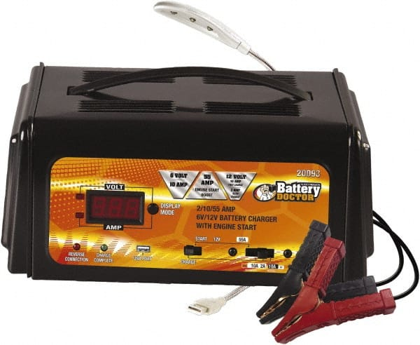 2//10//55Amps Battery Charger// Engine Starter