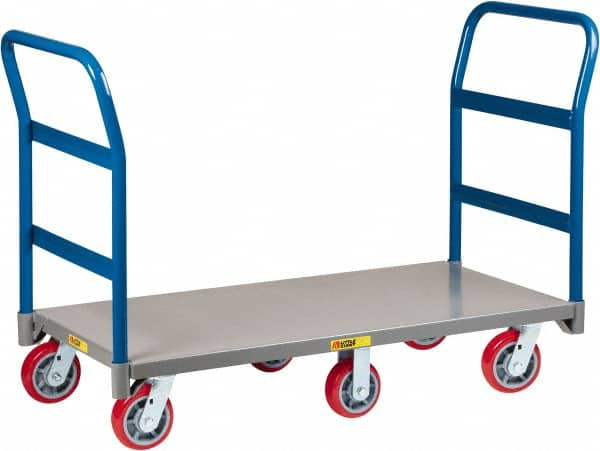 Little Giant 3 600 Lb Capacity Steel 6 Wheeled Platform Truck 39872353 Msc Industrial Supply