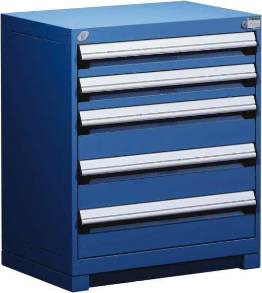 Blue 32 Inch Storage Cabinet Mscdirect