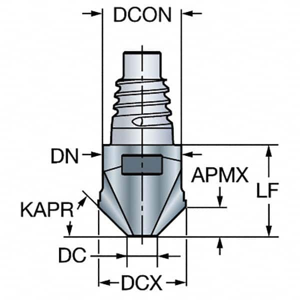 Without Coolant Coro Mill 316 Solid Carbide Head for Stable Multi-Operations milling Carbide A316-25SM550-10032P 1730 Sandvik Coromant