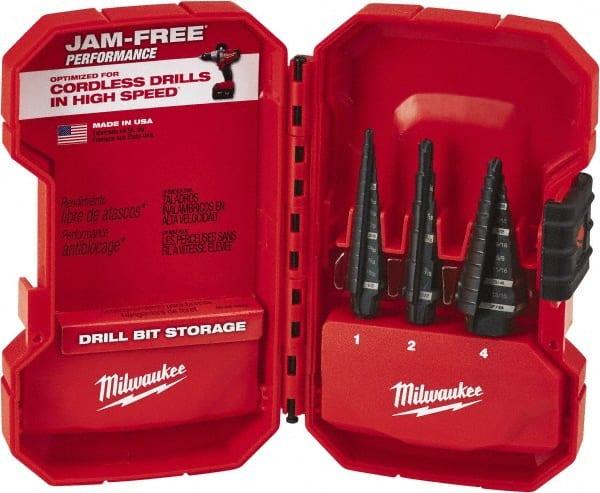 MILWAUKEE #4 Step Drill Bit 3