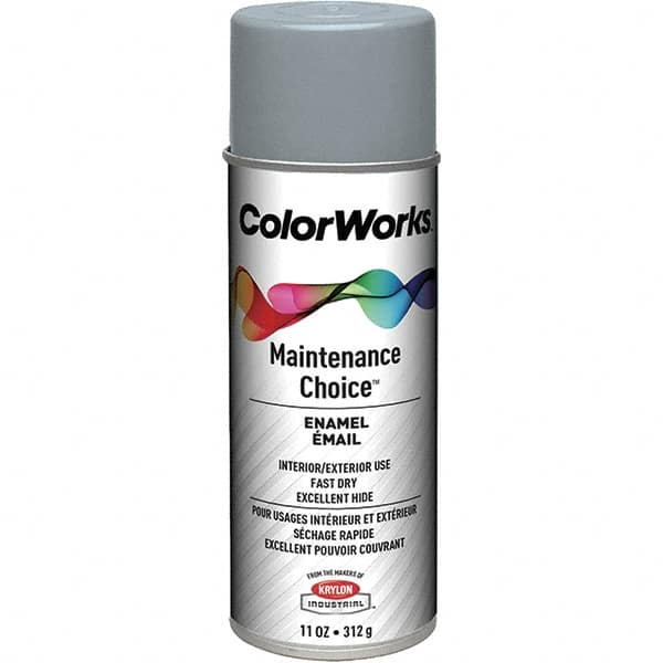 15 oz Flat Gray Enamel Spray Primer 00240846 - MSC
