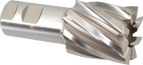 HSS 4 Flute Single End End Mill 1-7//8 X 1-1//4 Size Set of 2