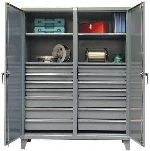 5 Ft Locking Storage Cabinet Mscdirect