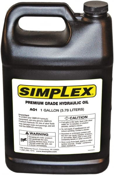 Iso Hydraulic Oil   MSCDirect com