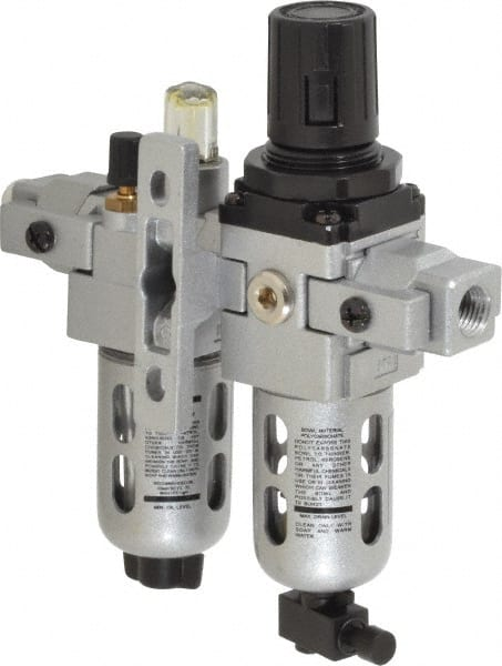 "Regulator and Lubricator Control Unit Professional Air Filter 1//4/"" NPT"